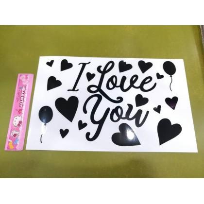 SHIOK Bobo Balloon Sticker For 10,18, 24, 32 Inch Balloon SK0090/83/86/87/88/89/93/97/98/100